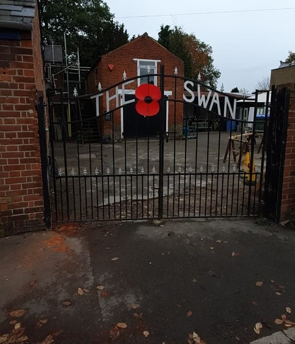 Poppy on the main gate