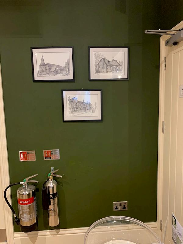 Three new pictures of the local area have been put up